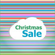 Holidays concept: pattern background with christmas sale words — Stock Photo