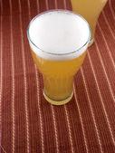 Frosty sklo světla pivní set — Stock fotografie