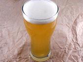 Cristal escarchado de cerveza light set — Foto de Stock