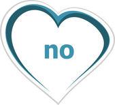 Social concept, no word on love heart — Stock Photo