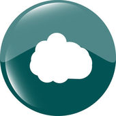 Cloud icon — Stock Photo