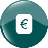 Currency exchange sign icon. Currency converter symbol. Money label — Stock Photo