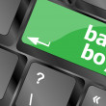 Baby boy message on keyboard enter key — Stock Photo #47389507