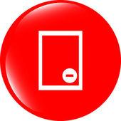 Text Datei Zeichen Symbol. Löschen der Datei Dokument-symbol — Stockfoto