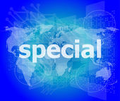 Education concept: Special word on digital background — Stock Photo