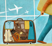 To the vacation — Stock Photo