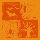 Fondo halloween — Vector de stock