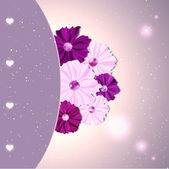 Springtime Colorful Cosmos Flower — Stockvector