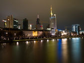 Embankment in Frankfurt am Main — Stock Photo