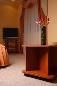 Interior of a room in a hotel — Stock Photo