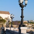 Embankment in Bari Italy — Stock Photo