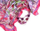 漂亮的围巾 — 图库照片