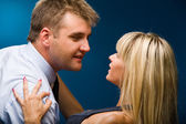 Male and female — Stock Photo