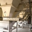 Stock Photo: Grain drying machine