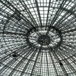 Stock Photo: Steel roof structure