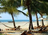 Beach in Goa — Stock Photo