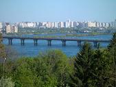 Urban landscape kiev — Stock Photo