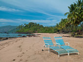 Goa praia de coca-cola — Foto Stock