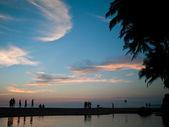 Cola beach goa — Stockfoto