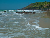 Cola beach Goa — Stock Photo