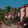 Stock Photo: Architecture hotels goa