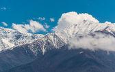 Georgia mountains landscape — Stock Photo