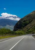 Georgia mountains landscape — Foto de Stock