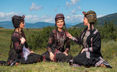 National Song and Dance Ensemble of Georgia Erisioni — Stock Photo