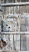 Detail of the door — Stock Photo