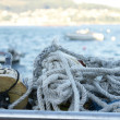 Ropes and other tools of fishing — Foto de Stock