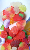 Candy colors and shapes — Stock Photo