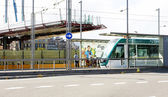 Station van trams — Stockfoto
