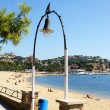 Beach of Sant Feliu Guixols - Stock Photo