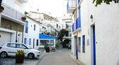 Cadaqués's alley — Stockfoto