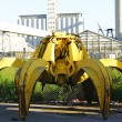 Octopus Replacement of a large crane — Stock Photo