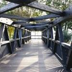 Bridge on road — Stock Photo