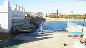 Sailing School from Barcelona — Stock Photo