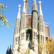 Temple or Church of the Sagrada Familia of Gaudí — Stock Photo