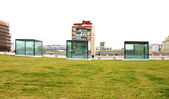 Cubes Glass Museum of Design — 图库照片