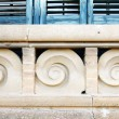 Architectural detail of valance Hospital de lSantCreu and Sant Pau — Stockfoto #30330145