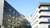 Sant Pau hastane kompleksi yeni binalar — Stok fotoğraf