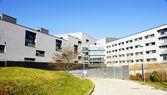 Nuevos edificios del complejo hospital de sant pau — Foto de Stock