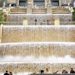 Stock Photo: Waterfall fountain of Montjuic