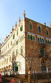 Catalan modernist buildings of the hospital complex of Sant Pau — Foto de Stock