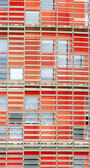 Detail of the facade of the Torre Agbar for backgrounds and textures — Zdjęcie stockowe