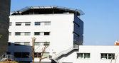 Nowe budynki kompleksu szpitala sant pau — Zdjęcie stockowe