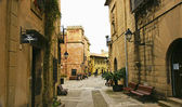 Spanish Village of Barcelona — Stock Photo