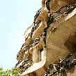 Building La Pedrera by Antonio Gaudi — 图库照片