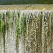 Spillway in Foix reservoir — Stock Photo