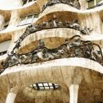 La pedrera antonio tarafından bina gaudi — Stok fotoğraf #30526451